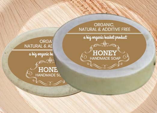 Buy Pure Honey Soap with Coconut Oil at Online Organic Shop